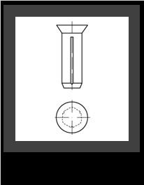 DIN 1477 Oceľ bez p.ú.