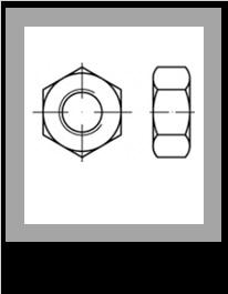 Matice EN 14399-4 žiarový zinok