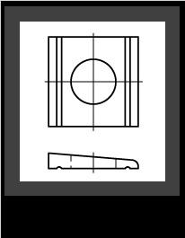Klinové a štvorcové